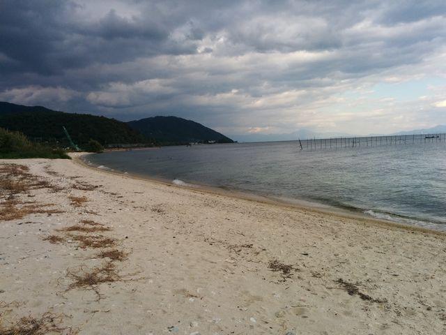 北小松の琵琶湖-北側1