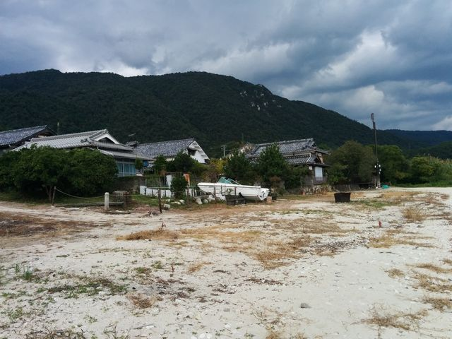 北小松の琵琶湖-北側2