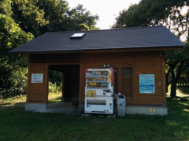 春日山公園のトイレ&休憩所